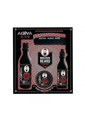 Agiva Beard & Mustache Set