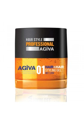 Agiva Hair Gel 700 Ml 01 Yellow