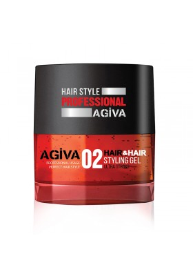 Agiva Hair Gel 700 Ml 02 Red