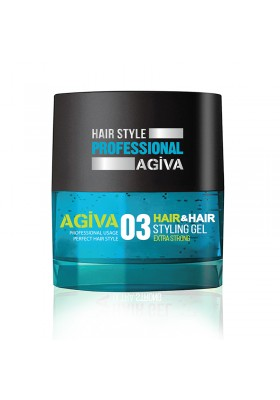 Agiva Hair Gel 700 Ml 03 Blue