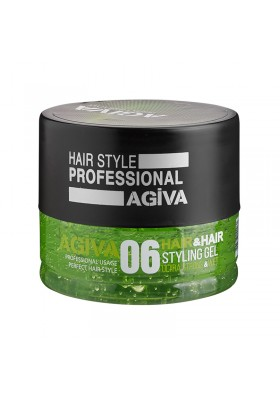 Agiva Hair Gel 700Ml 06 Ultra Strong Wet
