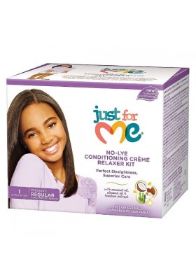 No-lye Condit.creme Relaxer Kit Regular Kids