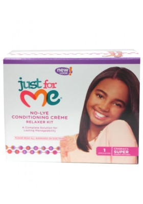 No-lye Condit.creme Relaxer Kit Super Kids