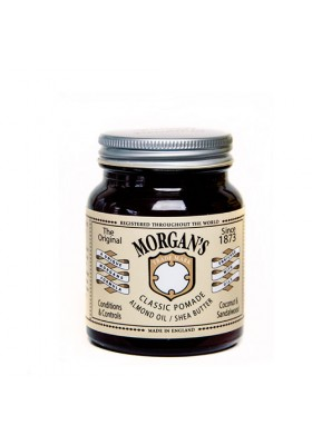 Morgan's Classic Pomade With Almond Oil And Shea Butter 100Gr