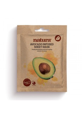 Natura Avocado Infused Sheet Mask 22Ml