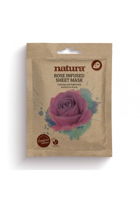 Natura Rose Infused Sheet Mask 22Ml