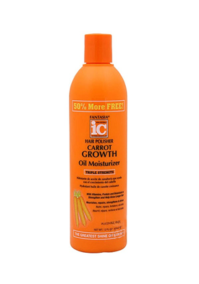 Hair Polisher Carrot Oil Moisturizer Triple Strength 355Ml