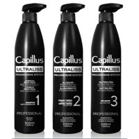 Kit Alisado Capillus Ultraliss 3x500Ml